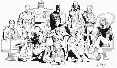 Coloring Justice League Comics Comic Drawing Coloringpagesfortoddlers