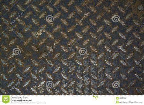 Steel Floor Pattern Industrial Background Stock Photo
