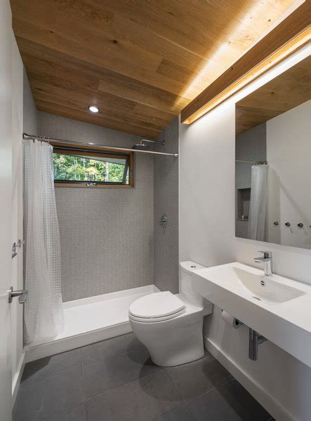 modern bathroom open showers design