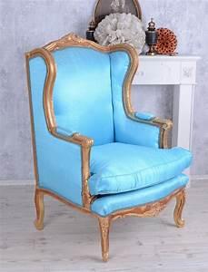 Baroque Fauteuil Bergre Vintage Fauteuil Rococo Chaise