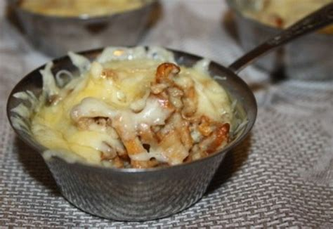 julien cuisine жульен из лисичек рецепты просто и со вкусом