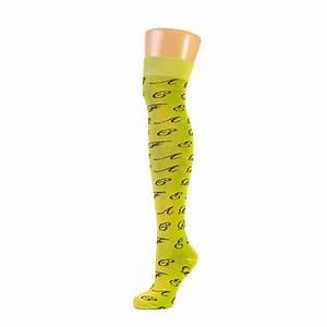 ladies letters alphabet over the knee socks lot With letter socks