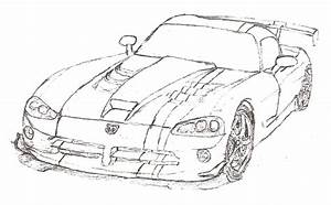 2013 dodge viper Colouring Pages