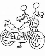 Coloring Easy Motorbike Pages Motor Bike Topcoloringpages Motorcycle Printable Sheet Children Motorbikes Dirt Chopper Motorcycles Comments sketch template
