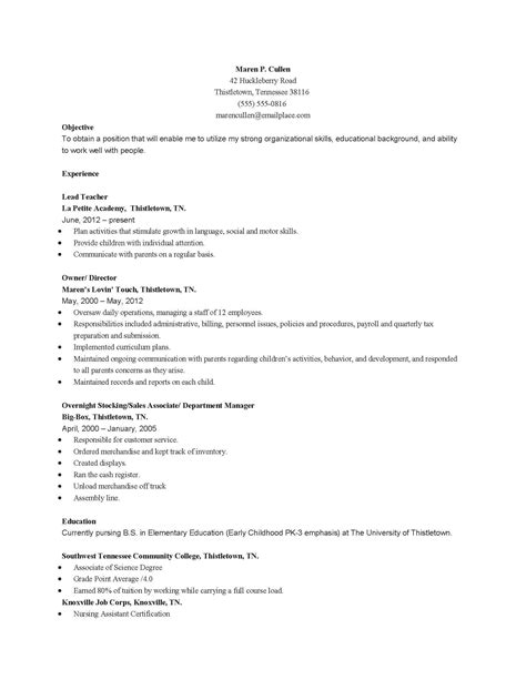 child care resume template australia krida info