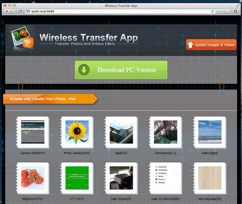 how to transfer iphone photos to mac how to photos from iphone to mac via wifi
