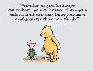 Pooh And Piglet... Classic Goodbye Quotes