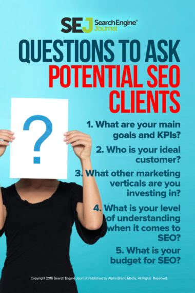 26 Questions To Ask Potential Seo Clients  Search Engine