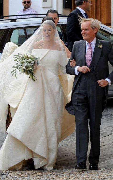 lady charlotte wellesley weds billionaire financier