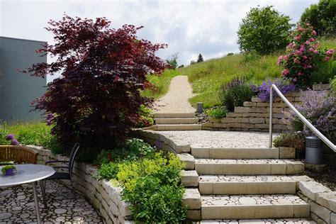Einen Garten Am Hang Anlegen  Teil 2 Oeschgartenbauch