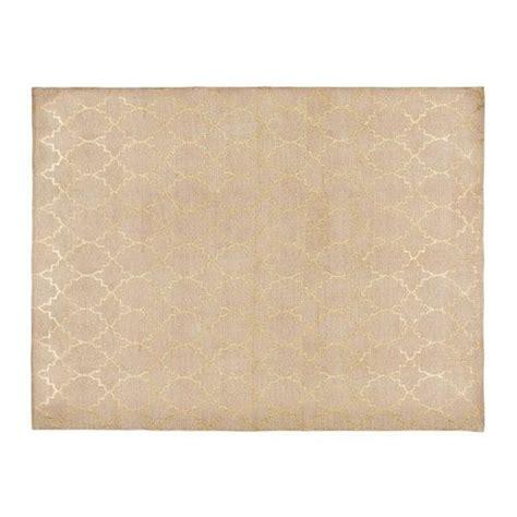 farbe für textilien teppich aus beige baumwolle mit motiven 140x200