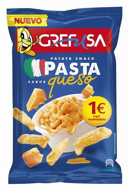 Pasta Snack Patata Queso Grefusa Snacks Sabor