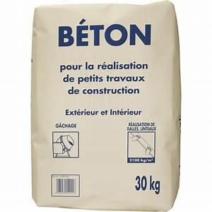 Dosage Pour Faire Du Beton : b ton 30 kg leroy merlin ~ Premium-room.com Idées de Décoration