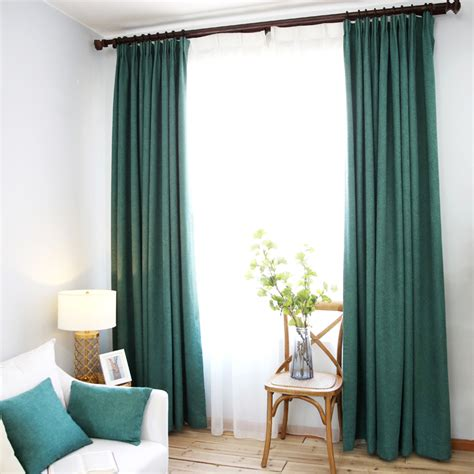 emerald green curtains modern thermal emerald green solid house curtains