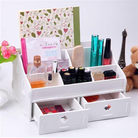 white wood desk accessories white wooden box wash gargle bathroom shelf storage box