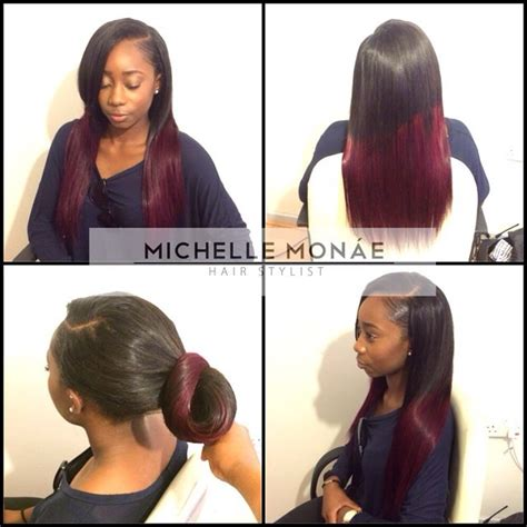 Hairstyles With Tracks Sewed In by Mon 225 E Hairstylist Evening Dolls Style