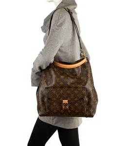 louis vuitton metis monogram canvas shoulder hobo tote handbag purse monogram canvas
