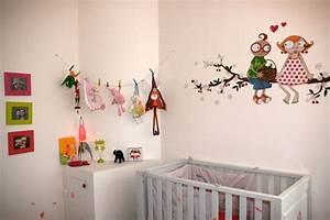 Décoration Chambre De Bébé : chambre bebe decoration murale visuel 6 ~ Teatrodelosmanantiales.com Idées de Décoration