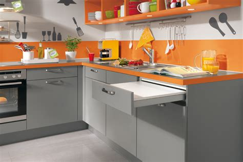 en cuisine orange is the decorer sa maison fr