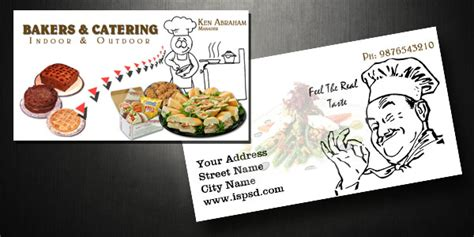 catering visiting card templates all posts tagged with catering business card ideas