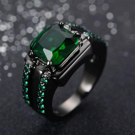 buy wholesale mens emerald ring  china mens
