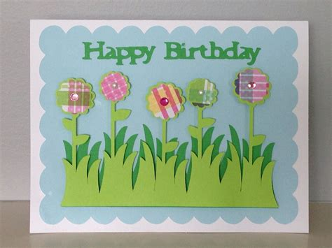 birthday card  cricut cricut cards pinterest
