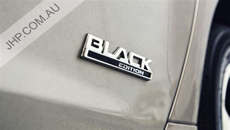 chevy ss holden commodore black edition side door badge