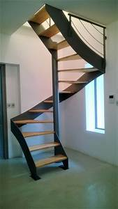 Escalier Hlicodal Mtallique Carr Atelier Des