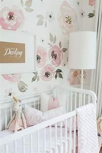 Babyzimmer Tapete Mädchen : 336 besten babyzimmer einrichten bilder auf pinterest ~ Frokenaadalensverden.com Haus und Dekorationen