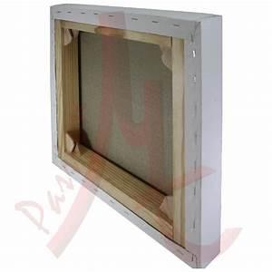 Toile Blanche A Peindre : ch ssis 3d entoil toile blanche peindre polyester fin ~ Premium-room.com Idées de Décoration