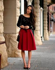6 Tops to Wear with Skater Skirts u2013 Glam Radar