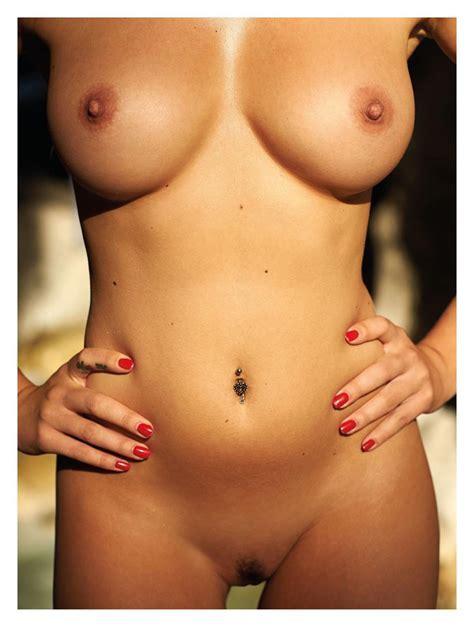 Model Karolina Witkowska Naked From Playboy Croatia October