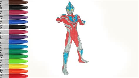 Ultraman Ginga Sexy Suit Coloring Pages Sailany Coloring
