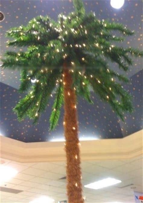 fake tree with lights artificial lighted palm trees best fake palm trees with