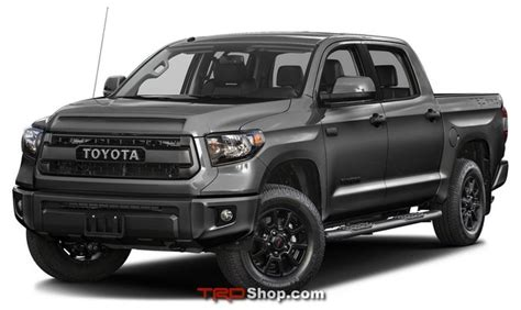 toyota tundra grille tundra trd pro magnetic gray     trdshopcom