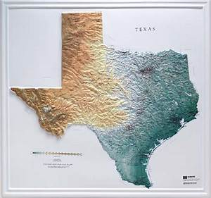 Raised Relief Maps 3d Topographic Map US State Series