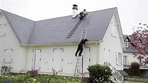 Demoussage Toiture Ardoise : r fection de toiture en ardoises fibrociment par uab ~ Premium-room.com Idées de Décoration