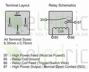 4 Pin 12 Volt Relay Diagram  4  Free Engine Image For User