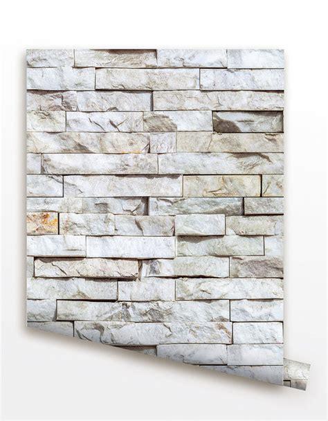 removable peel  stick fabric wallpaper seamless brick
