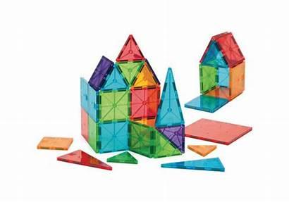 Magna Tiles Piece Shapes Build Clear Colors