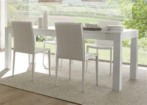 table de cuisine blanche avec rallonge charmant table de cuisine blanche avec rallonge et table
