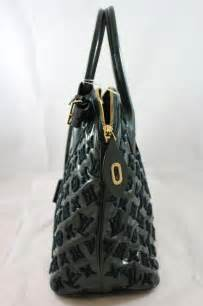 louis vuitton limited edition perrier monogram fascination lockit green tote bag  sale