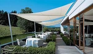 sonnensegel ansprechender uv schutz fur terrasse oder With französischer balkon mit sonnensegel uv schutz garten