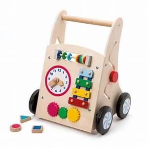 Chariot Bois Bébé : pousseur chariot d 39 activit s trotibul cr ation oxybul pour enfant de 1 an 3 ans oxybul veil ~ Teatrodelosmanantiales.com Idées de Décoration