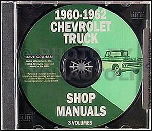 1962 Chevrolet Truck Wiring Diagram Manual Reprint