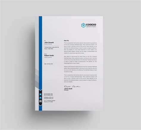 letterhead templates 000579 template catalog