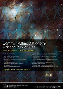 Poster: Communicating Astronomy with the Public 2011 (CAP ...