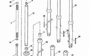 Blog Of The Biker  Ud83c Udfcd  2004 Sportster Fork Leg Parts Diagram