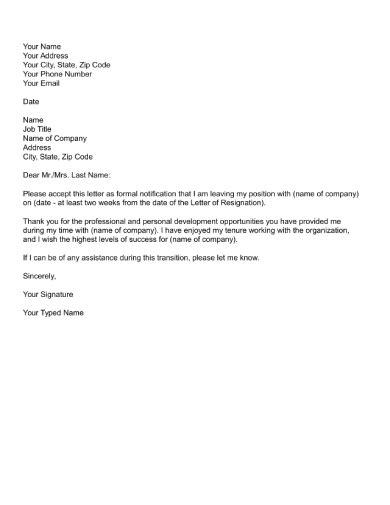 FREE 27+ Resignation Email Examples in DOC | Google Docs | Apple Pages | Examples