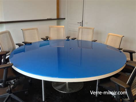 protection bureau protection de table en verre trempe